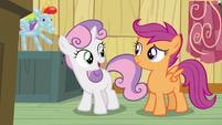 """Sweetie Belle """"we're all scared of the same things"""" S5E4"""