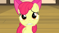 Apple Bloom looking worried S4E17