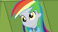 Derpy with rainbow-dyed hair EGDS12b