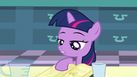 Filly Twilight -you're supposed to add the sodium chloride first- S5E12