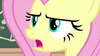 """Fluttershy serious """"responsibility"""" MLPS3"""