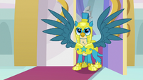 Gallus, captain of the royal guard S9E26