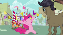 Pinkie Pie's welcome song big finish S02E18