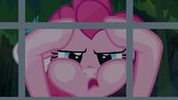 "Pinkie Pie ""hanging her head in utter despair"" S7E18"