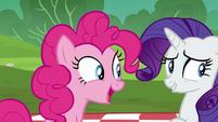 Pinkie Pie asks Maud if she's ready S6E3