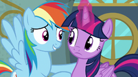 "Rainbow Dash ""good one, Twilight"" S6E24"