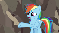 """Rainbow Dash """"she destroyed your statue"""" S7E18"""