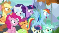 "Rainbow Dash ""that was insane!"" S8E20"