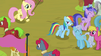 Rainbow Dash getting frustrated S4E22