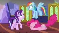 Rainbow Dash hears Starlight's request for water S6E21