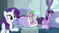 """Rarity """"we must know every detail!"""" S6E7"""