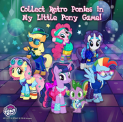 Retro Ponies promotion MLP mobile game.png