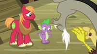 """Spike """"three of us would be way better than two"""" S6E17"""