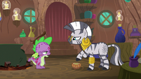 Spike quietly -it's all so embarrassing- S8E11