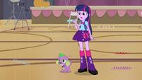 Twilight asking about Rainbow Dash EG
