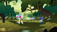 Celestia and Luna pull in opposite directions S9E13