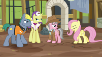 "Fluttershy ""none of you did anything I asked for!"" S7E5"