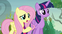 """Fluttershy """"why are you 'pumpkining' your neighbors?"""" S5E23"""
