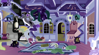 Opposite Fluttershy snaps at Discord S6E17