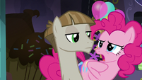 """Pinkie Pie """"she never told me that!"""" S8E3"""