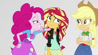Pinkie Pie realizes what Sunset Shimmer did EGS3