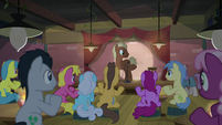 Pony MC presenting Maud Pie S8E3