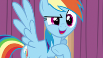 "Rainbow Dash ""how can I help?"" S6E13"