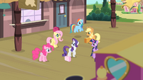 Rarity '...my very best friends there with me!' S4E08