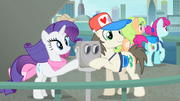 Rarity and a tourist touching the binocular S4E08.png