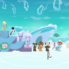 S07E07 Rainbow z naklejką za uczestnictwo.png