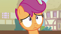Scootaloo in shock and disbelief S9E12
