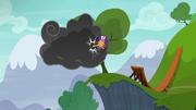 Scootaloo kicks the storm cloud S6E7.png