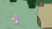 Spike -She'll keep it for a few more hours- S4E23