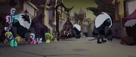 Storm Creatures torturing the ponies MLPTM