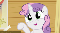Sweetie -She was always fussing with her bangs and tail!- S5E04