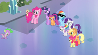 """Twilight and friends acting """"casual"""" S4E24"""
