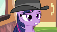 Twilight with hat on S2E24