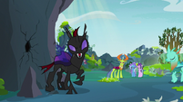 "Pharynx ""the hive looked better with holes"" S7E17"