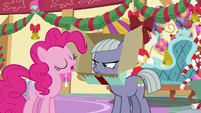 """Pinkie Pie """"am I up for the challenge?"""" MLPBGE"""