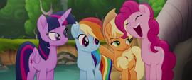"""Pinkie Pie ecstatic """"indeedy!"""" MLPTM"""