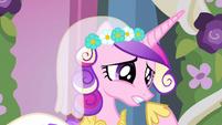 Princess Cadance why does she S2E26