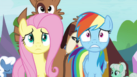 Rainbow and Fluttershy out of time S4E22