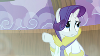 Rarity 'since we've had a relaxing day' S6E10