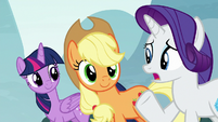 Rarity corrects herself -absolutely- S8E18