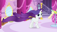 Rarity with an elegant moving mane MLPS1
