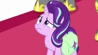 Starlight confused by the princesses' behavior S7E10