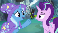 "Trixie ""you yell and blast him with magic"" S7E17"
