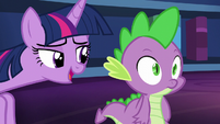 """Twilight """"I'm sure we can make some time for a claw massage and a back rub too"""" S5E22"""