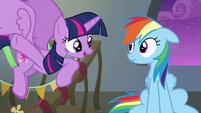 "Twilight ""think of the Wonderbolts like us"" S6E7"