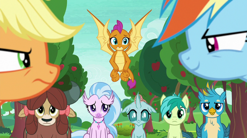 Young Six watch their teachers disagree S8E9.png